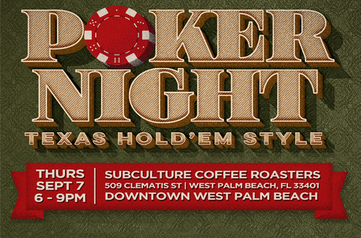 Poker Night Banner